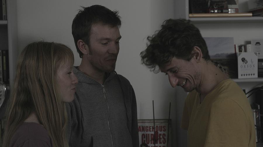 Fleur, Guillaume, Valentin, tounage - RANDOM saison 01
